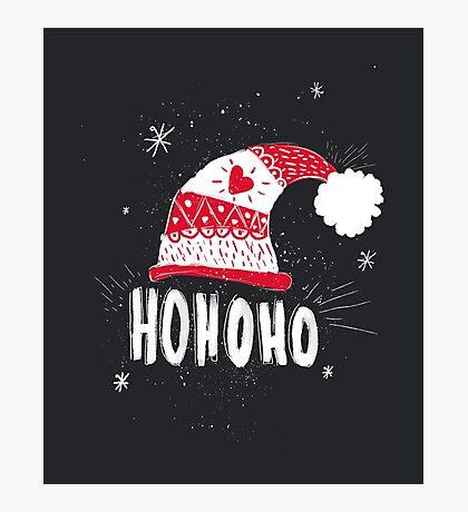 HO HO HO HO Photographic Print
