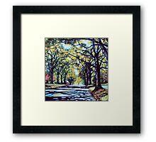 'Morehead Street' Framed Print