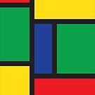 Primary Color Blocks-iPhone by onyonet photo studios