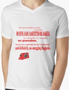 Talkie Toaster Mens V-Neck T-Shirt