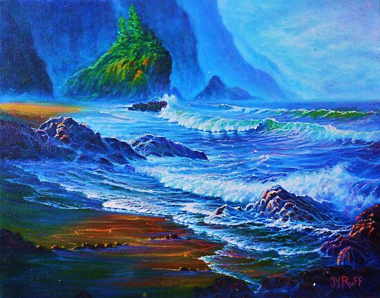 Morning Surf by jyruff