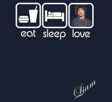 EAT SLEEP LOVE - LIAM by mcdba