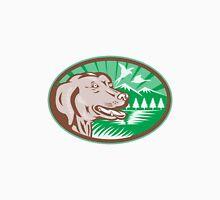 Labrador Retriever Hunting Dog Retro Unisex T-Shirt