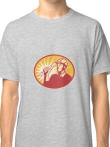 Electrician Power Line Worker Lightning Bolt Classic T-Shirt