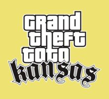 Grand Theft Toto - Kansas Kids Clothes