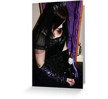 Gothic Portrait Greeting Card