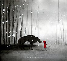 Little Red Riding Hood - In Denial by minoule