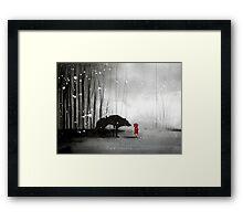 Little Red Riding Hood - In Denial Framed Print