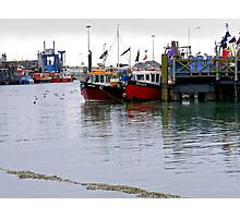 Colours of the Waterfront Photographic Print