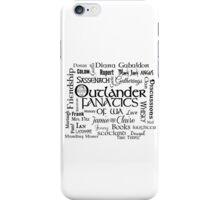 OFWA Word Cloud Logo Black iPhone Case/Skin
