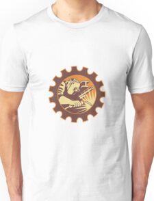 Welder Worker Welding Torch Retro Unisex T-Shirt