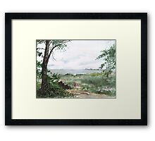 Plein Air 9 Framed Print