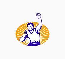 Athlete Shot Put Throw Retro Unisex T-Shirt