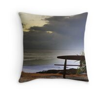 Snapper Rocks Seat Throw Pillow