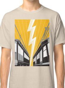 Vintage and Modern Streetcar Tram Train Classic T-Shirt