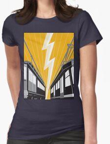 Vintage and Modern Streetcar Tram Train T-Shirt