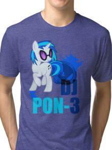 DJ pon-3 Tri-blend T-Shirt