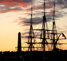 USS Constitution  by bradleyduncan