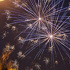 Fireworks from Ricalton Square by ClaireSinclair