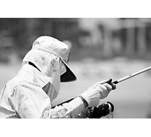 The Masked Fisherman Photographic Print