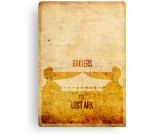 Raiders (aged) Canvas Print