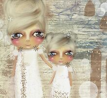 seaside angels by © Karin (Cassidy) Taylor