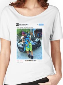 "Riff Raff Tweet ""Rap Game Blues Clues"" Women's Relaxed Fit T-Shirt"