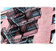 Red Brick Apartments Poster