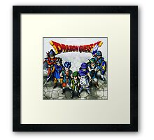 Dragon Quest Heroes Framed Print