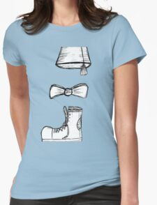 the eleventh doctor Womens Fitted T-Shirt