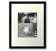 Burnout! Framed Print