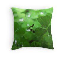 Juggling Caterpillar Throw Pillow