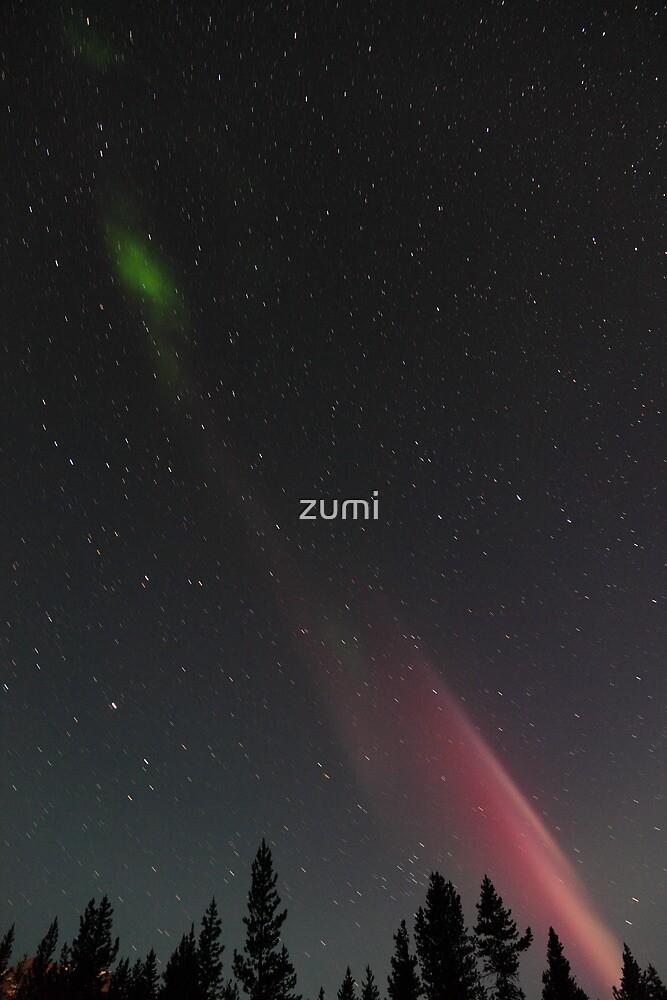 Aurora Borealis by zumi