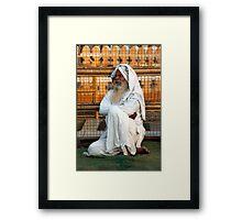 Alwar Holy Man Framed Print