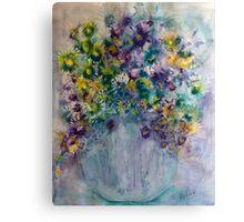 Alvington Thistles Canvas Print