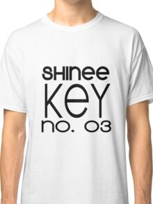 SHINee - Key [Black Text] Classic T-Shirt