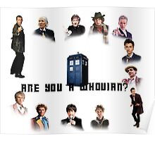 Are You a Whovian? Poster