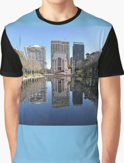 ANZAC Memorial, Hyde Park, Sydney, Australia 2012 Graphic T-Shirt