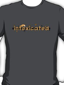 inFoxicated in Orange T-Shirt