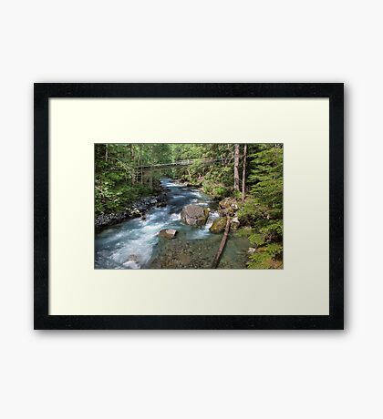 Troublesome Creek Framed Print