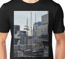 """""""Oosterschelde"""" Departing Cockle Bay, Sydney, Australia 2013 Unisex T-Shirt"""
