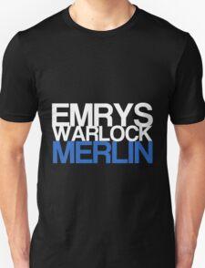 Emrys, Warlock, Merlin Unisex T-Shirt