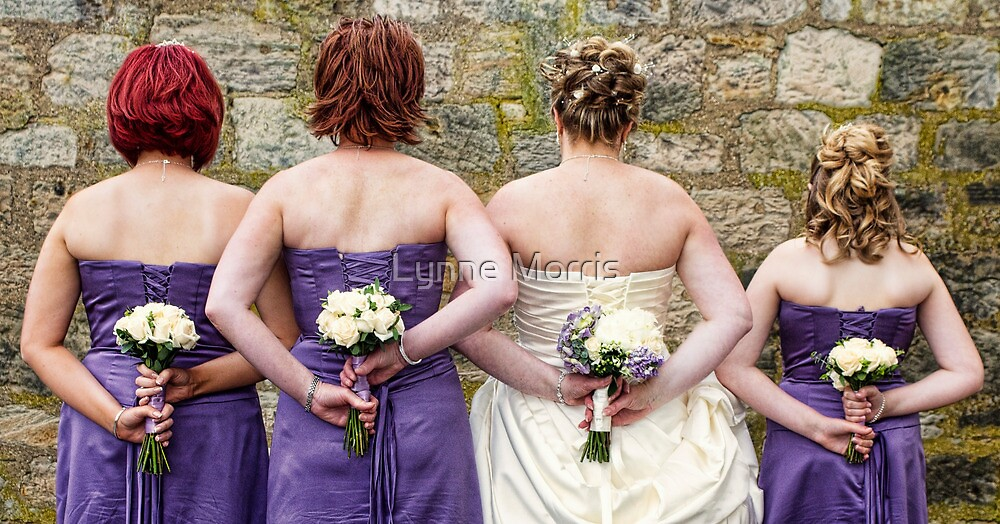 Wedding Flowers by Lynne Morris