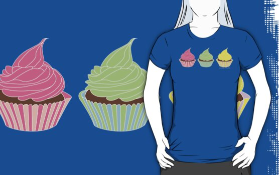 I'll Take Three Cupcakes by Leanne Churchill