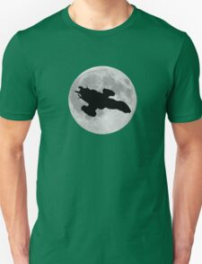 Serenity against the moon Unisex T-Shirt
