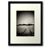 You Just Are Framed Print