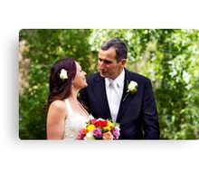 Newly Wed Canvas Print
