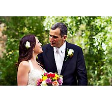 Newly Wed Photographic Print