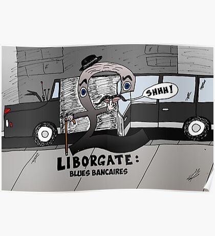 Liborgate - le scandale financier en caricature Poster