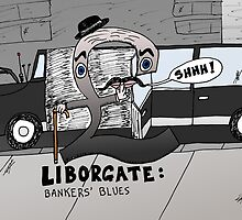Liborgate scandal - the pounding Libor caricature by Binary-Options